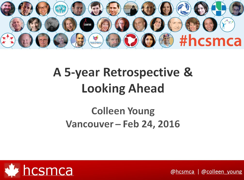 #hcsmca: 5-year Retrospective and Looking Ahead - My talk from the #hcsmca Symposium https://t.co/n9Dl0CMle1 https://t.co/32qWC9geBW