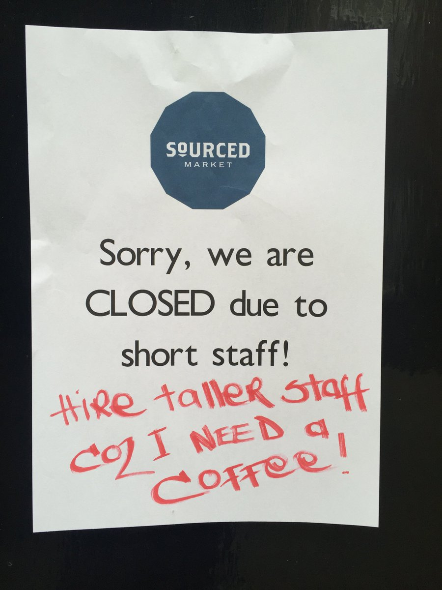 For all those desperate for a coffee we'll be back bigger and better tomorrow! https://t.co/BVoLq4msma