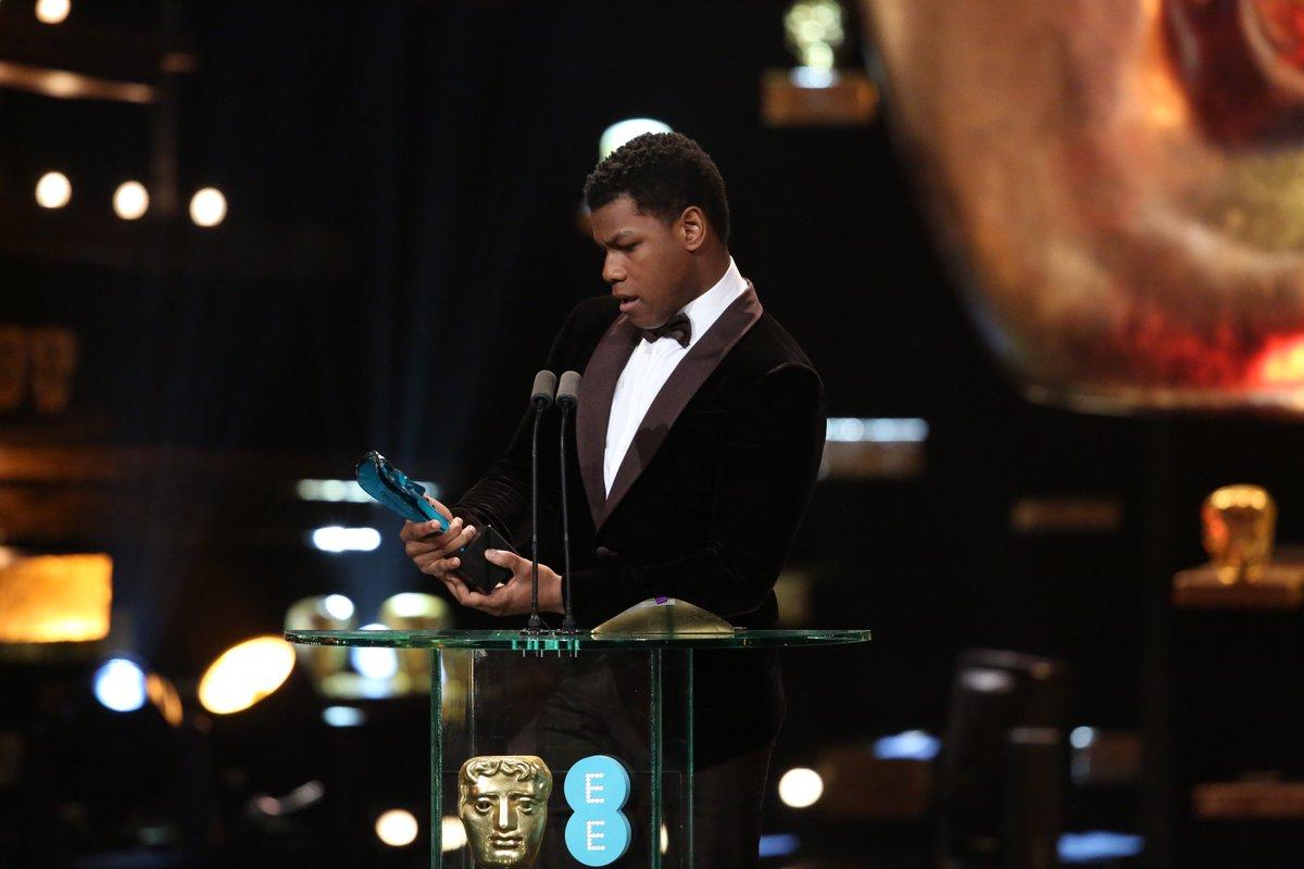 #ThrowbackThursday to @JohnBoyega winning his first BAFTA https://t.co/Dzhe0FJQkp