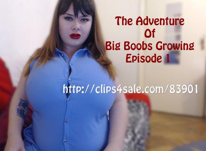 https://t.co/MqVTdQAx78 #bigboobs #hugeboobs #growth #growingboobs #naturalboobs #fantasy #sexy #bbw