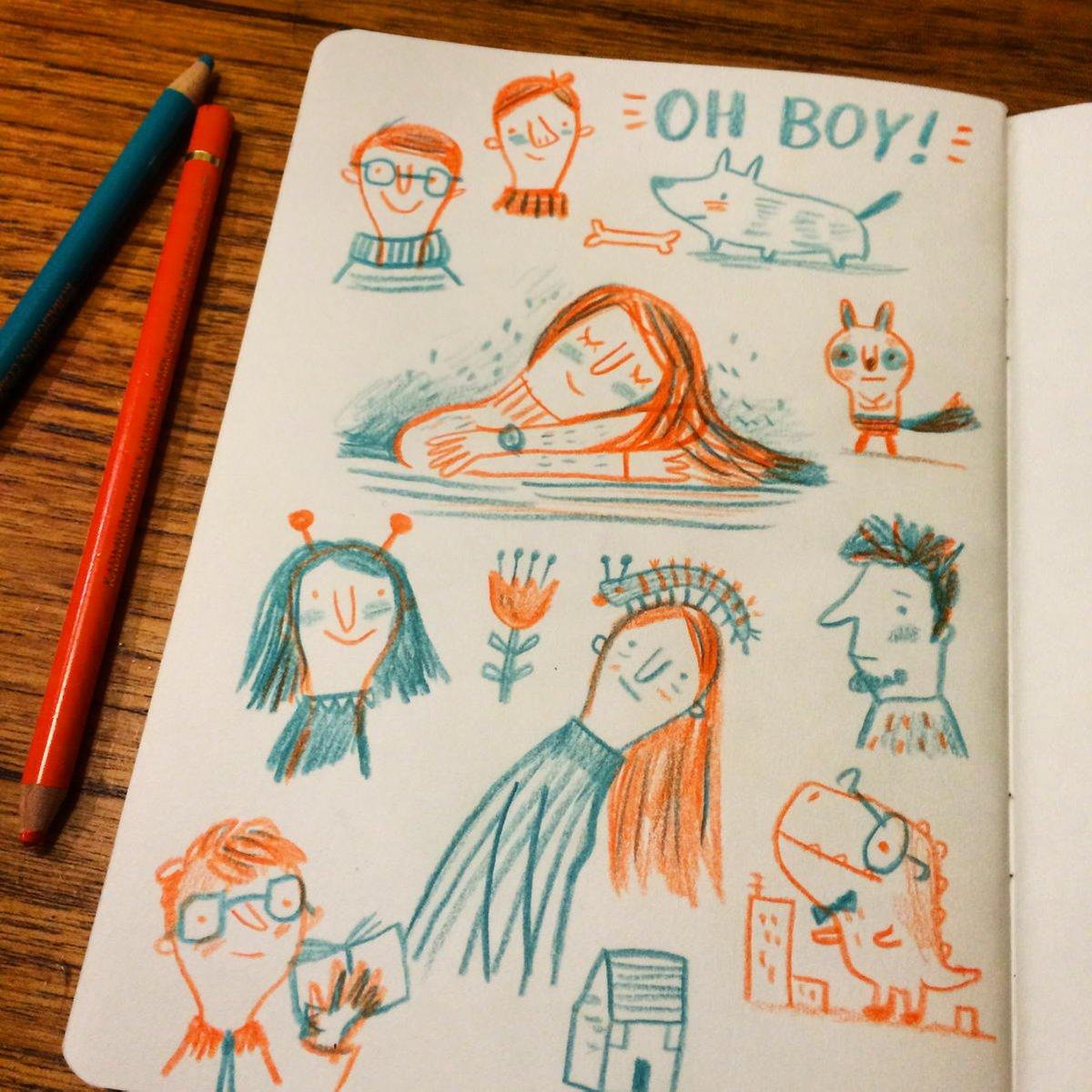 It's been a long week. #sketchbook #doodle https://t.co/ljuTgpHEjr