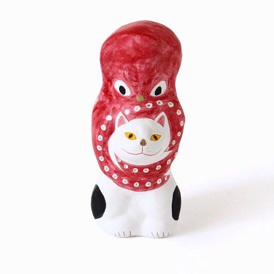 ◎フクモリ オンラインショップ◎ 『猫に蛸』再入荷しております! 在庫に限りがございますのでどうぞお早めに! ギフトラッピングも承ります〜 →https://t.co/wm8ffZHb8T https://t.co/MsDsse4oD2