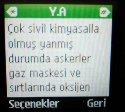 #Yüksekova'daki kimyasal gaz iddialarına ilişkin DİHA'ya gönderilen cep telefonu mesajları https://t.co/ZzV997UjCq https://t.co/MEDmWYv7L3