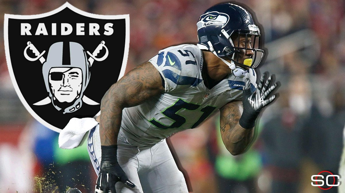 Lb bruce irvin plans to sign with raiders when signing period