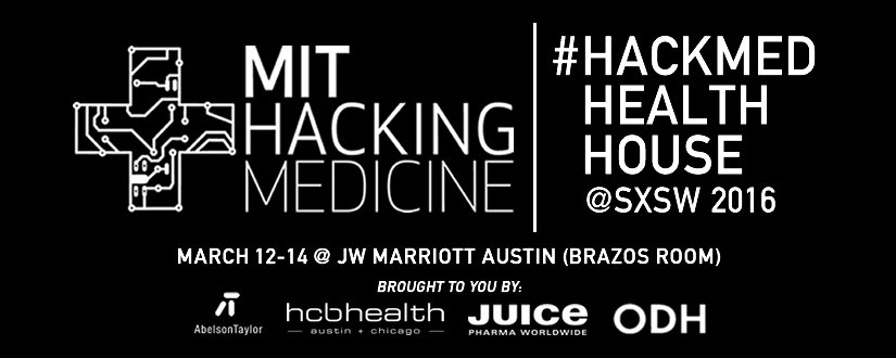 #Health #Startups at #SXSW - join us @ MIT #HackMed Health House  (MAR 12-14): https://t.co/skqYG6lUAD #SXSHackMed https://t.co/Tp8mdkoZsb
