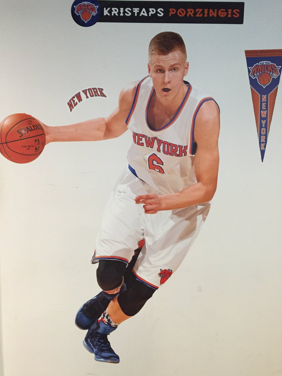 Got that new @kporzee Fathead in the @BleacherReport  NYC office. Thanks to @Fathead This thing is huge! https://t.co/0rZEl6dmMc
