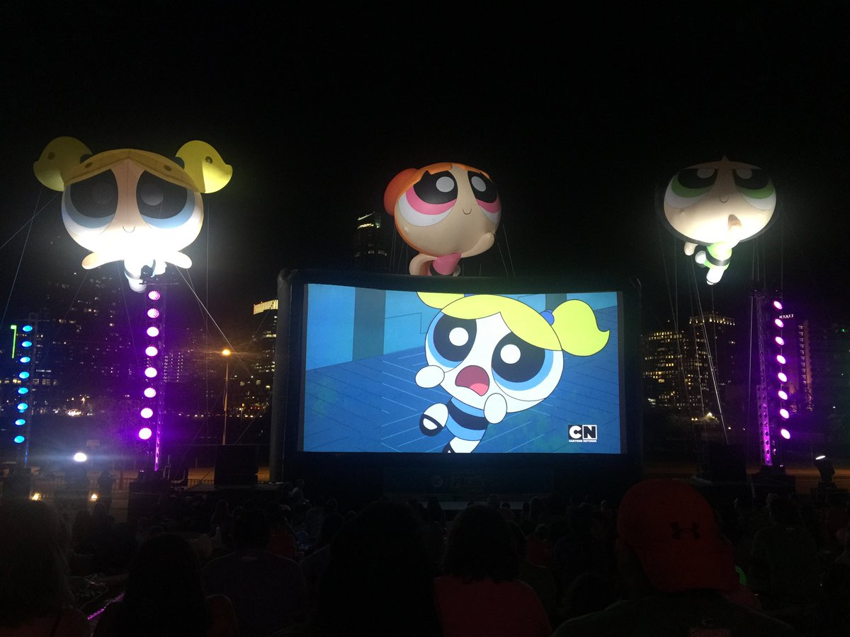 Just saw an exclusive 1st episode of The Powerpuff Girls!