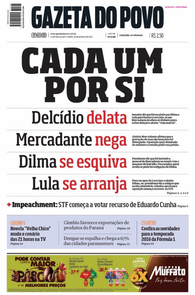 Crônica de um Brasil anunciado. https://t.co/uwnfZYq5HP