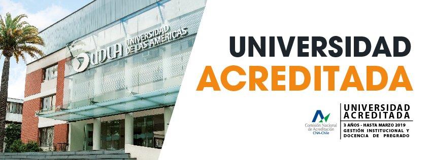 Comunidad @UDLA_CL , tenemos la satisfacción de compartir la gran noticia de la acreditación por 3 años. https://t.co/nlsiMKzapS