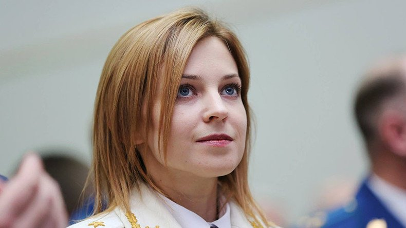 Prosecutor Poklonskaya says Crimea clearer of crime, still unhappy with online fame