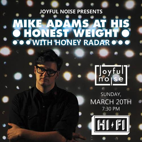 Retweet for a chance to win 2 tix to Mike Adams & @HoneyRadar at @thehifiindy Sunday! https://t.co/APdfVxxdnu