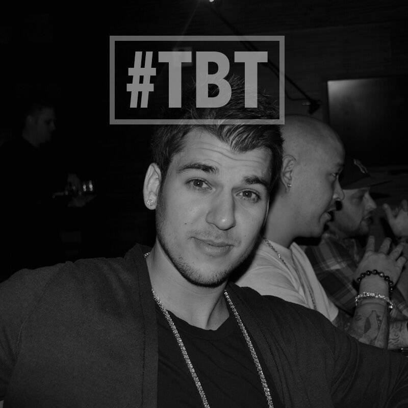 In honor of @robkardashian's birthday, #TBT to his 24th on khloewithak! Love you brother!!! https://t.co/K9BSxhLRW3 https://t.co/Wq7NLmpq3h