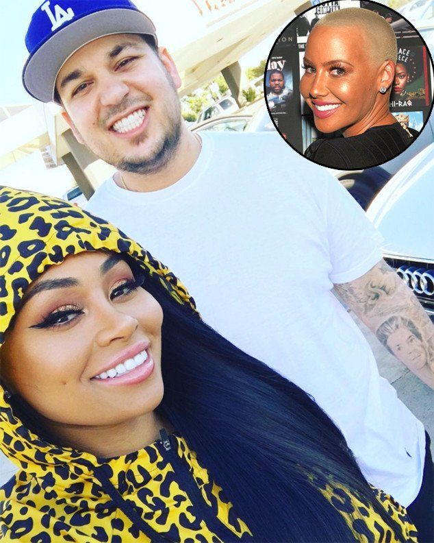 Rob Kardashian and Blac Chyna's relationship has Amber Rose's seal of approval: