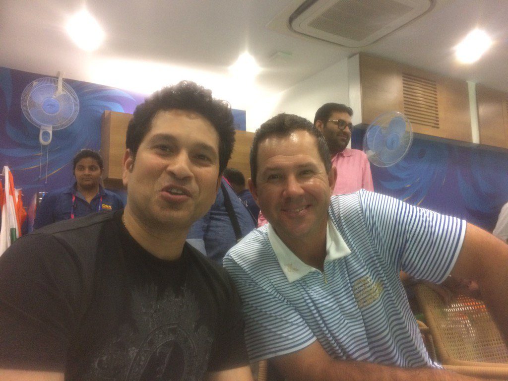 Two gentlemen who know a little about cricket watching the game. #IndvsWI #WT20 https://t.co/KnFQgeryoE