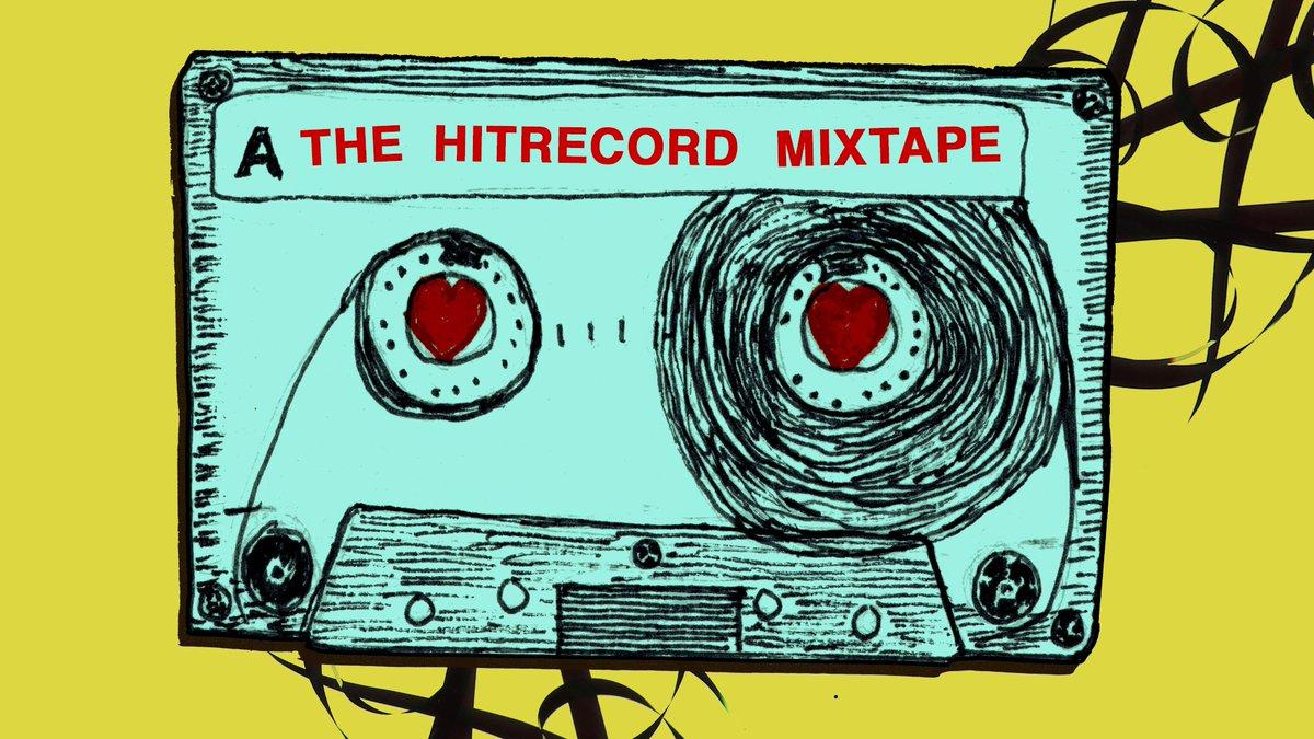 RT @hitRECord: A hitRECord Mixtape, you say? https://t.co/f3f6fiogHH https://t.co/6nYEvzVdyy