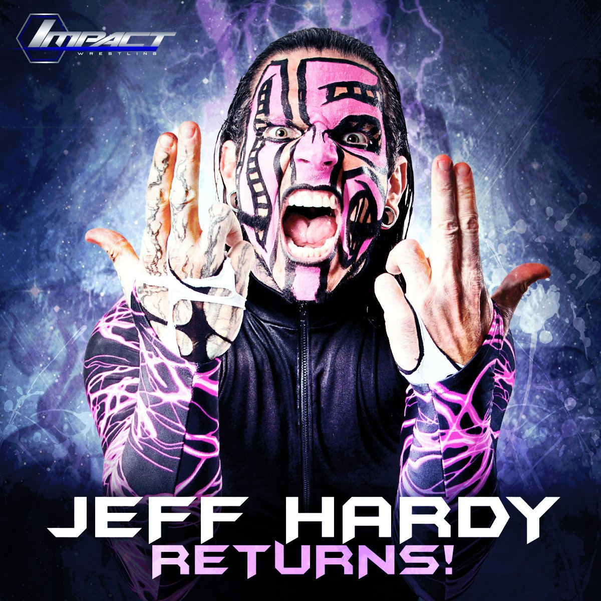 Tonight on another HUGE @IMPACTWRESTLING show. The legend that is @JEFFHARDYBRAND returns!! https://t.co/HmG4ySAp4b https://t.co/JHa1P491Hq