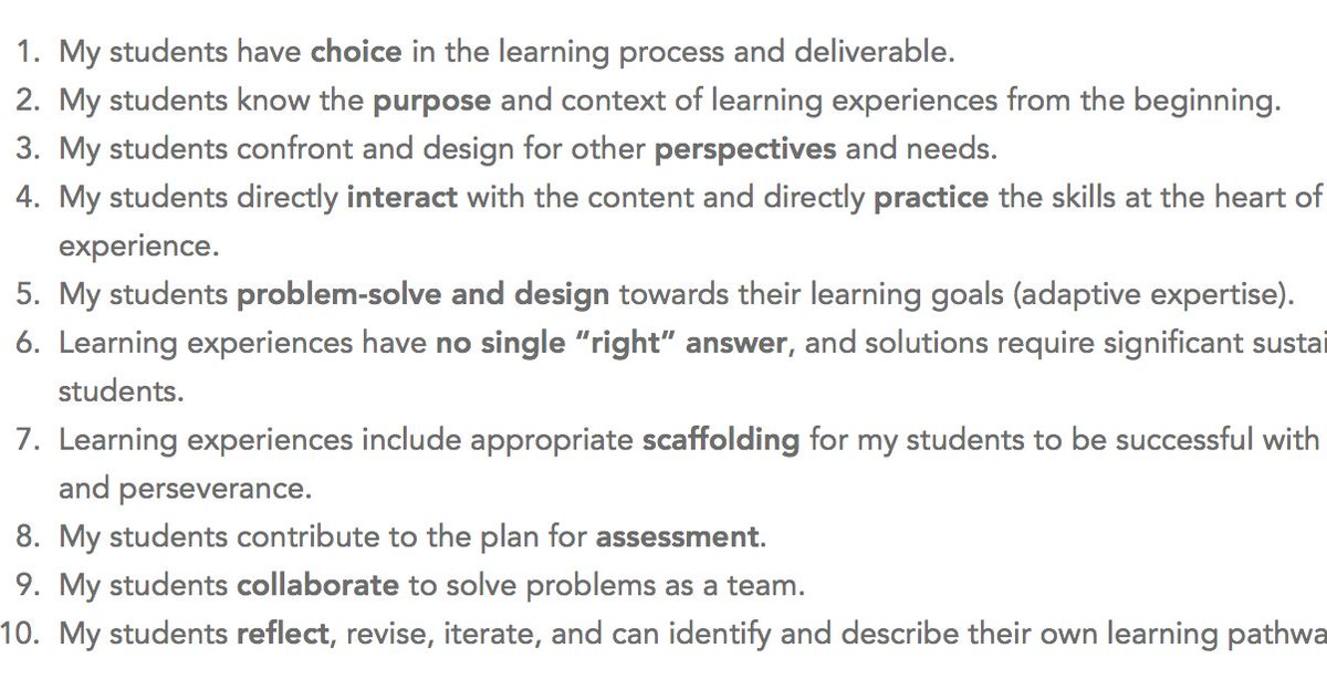 10 core elements of innovative learning https://t.co/wQDnJgrepO  @LindseyOwn @Getting_Smart #LX https://t.co/16ZsEMPsUB