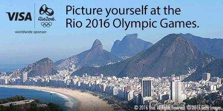 You could WIN a Rio 2016 Olympic Games trip from Visa! NoPurNec18+US/CANRes Ends 4/30 Rules:https://t.co/JLXY1KYl7L https://t.co/YOqKxRMlqW