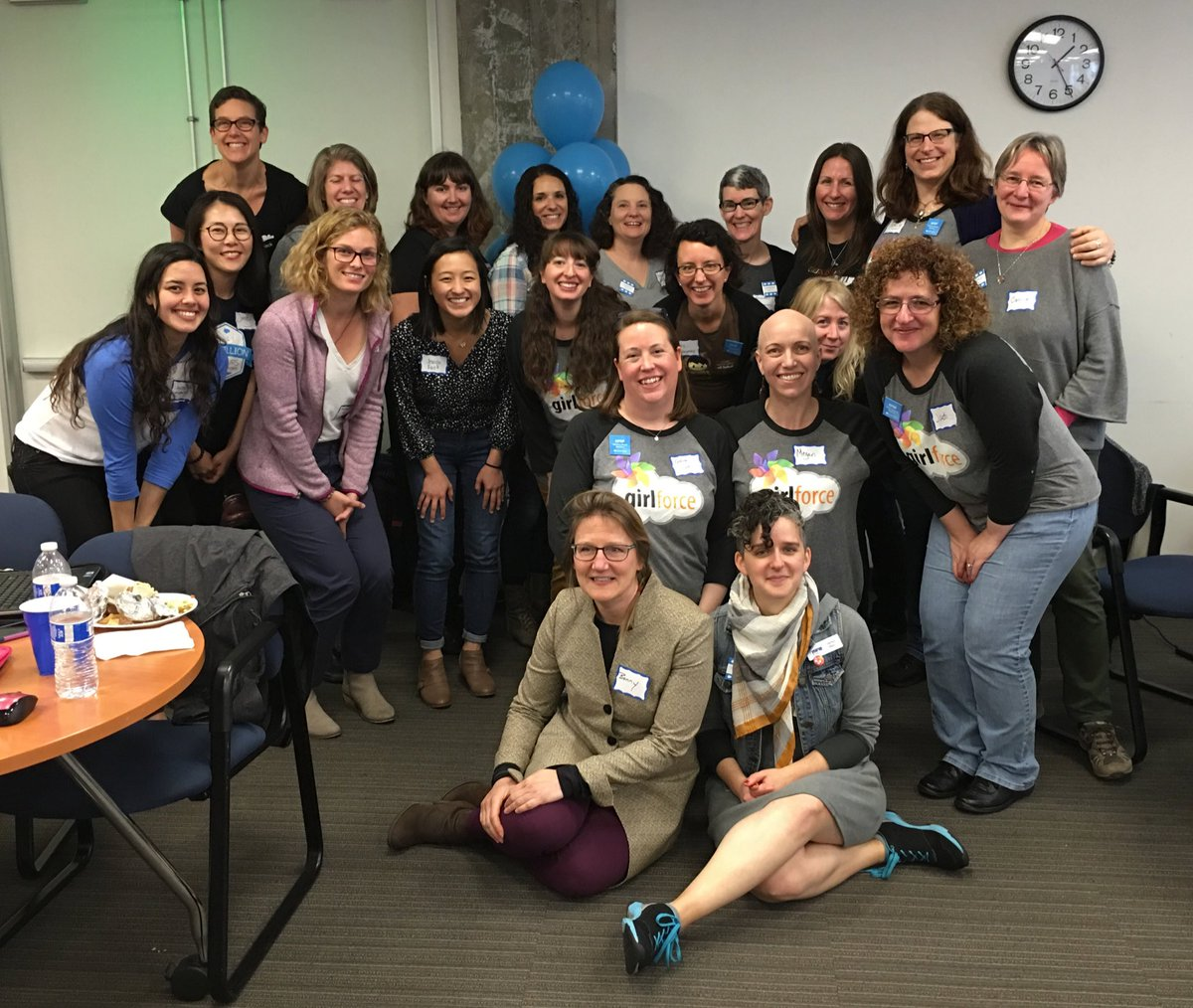 The women rocking today's @SalesforceOrg #NPSPsprint  @Girlforce1 https://t.co/OdJAVE5GYb