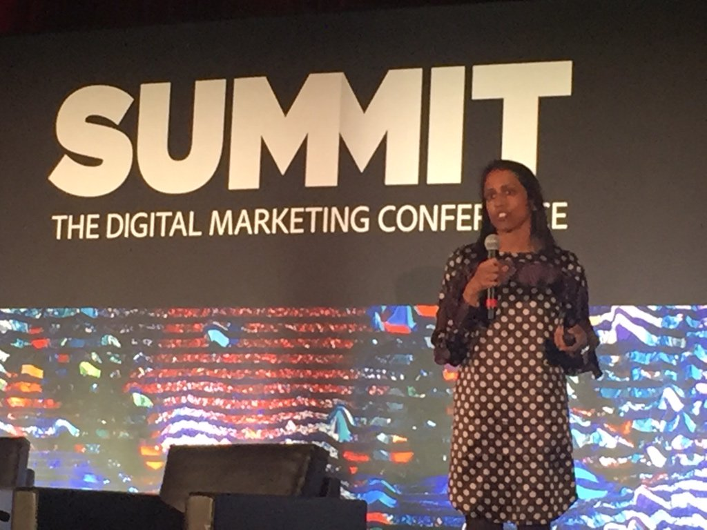 For every $1 spent on a #mobile device, $30 of retail sales are influenced by mobile via @smulpuru at #adobeSummit https://t.co/SeUYfUYnMO