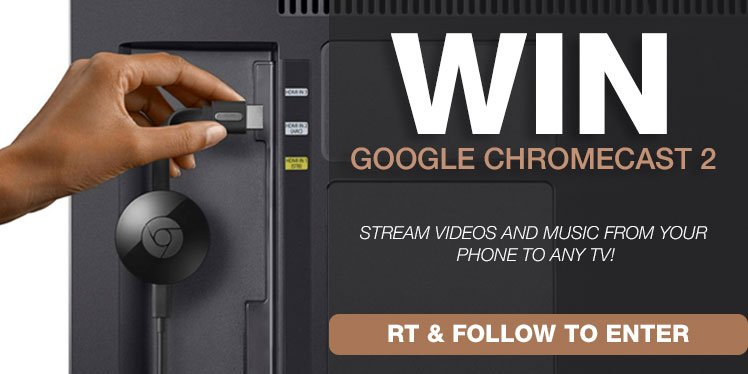 Having a good Saturday? Retweet and Follow to #win a Chromecast and make your #EasterWeekend even better! https://t.co/u1ELPYK9cA