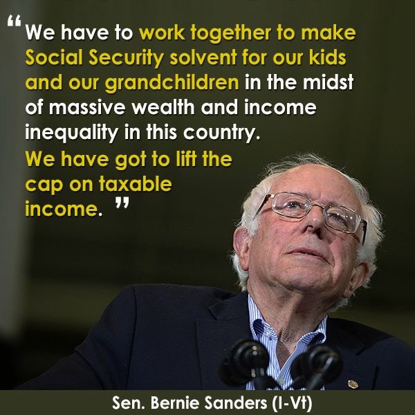 Seniors & disabled have a right to SS. Expand it never reduce. #FeelTheBern #WASHINGTONCaucus @BernieSanders https://t.co/K5Z0ndrBua