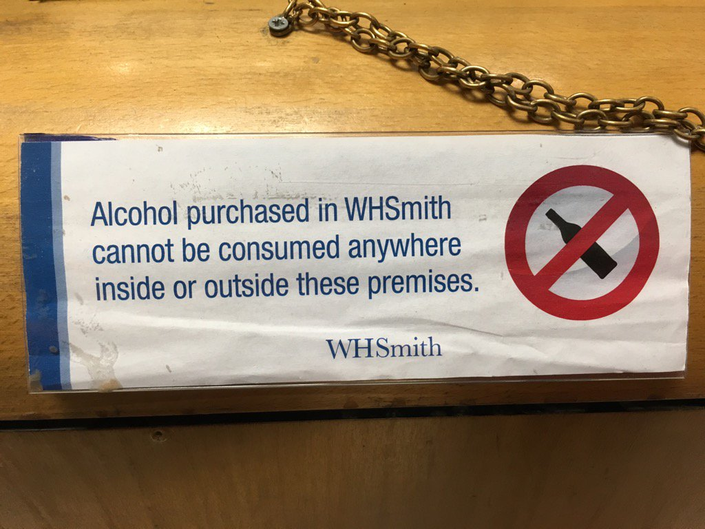 So where can we drink it?! @WHSmith https://t.co/Z3ZTxn9OOq