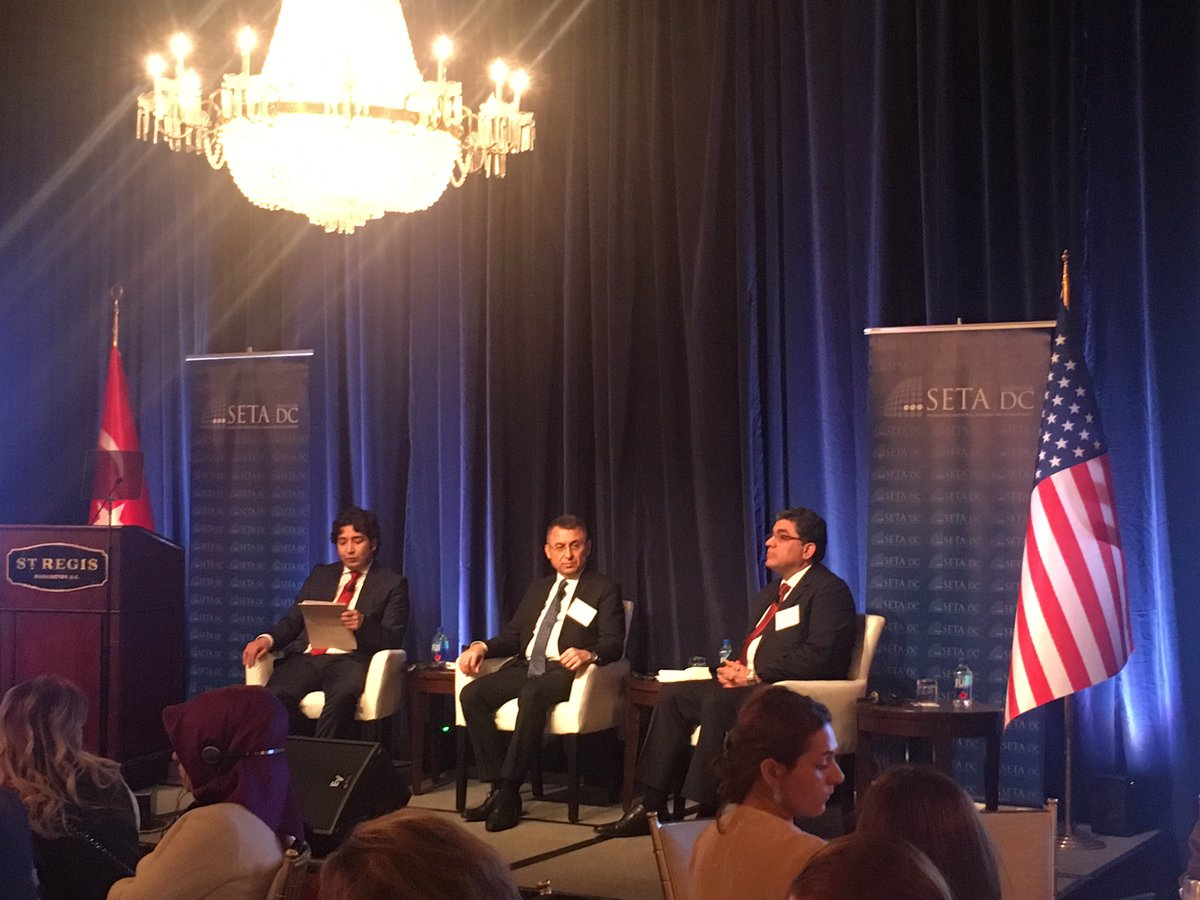 Panel I: Confronting the Syrian Refugee Challenge features Fuat Oktay of #AFAD and @HittoGhassan https://t.co/arX9HKog8r