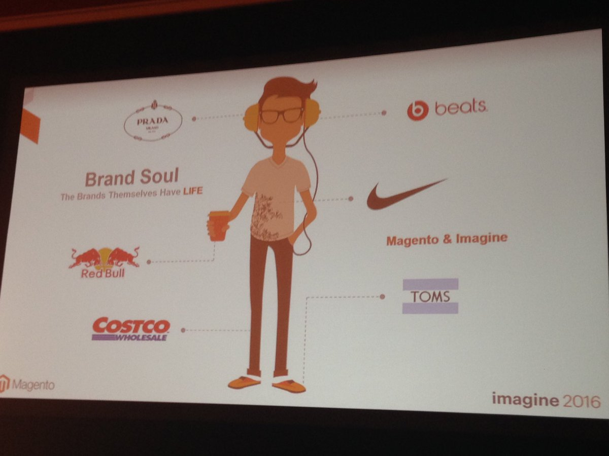 SheroDesigns: Love this Brand Soul! Create emotion and connect with your customer. #genius @BobSchwartz #MagentoImagine https://t.co/ebTxp1uwRh