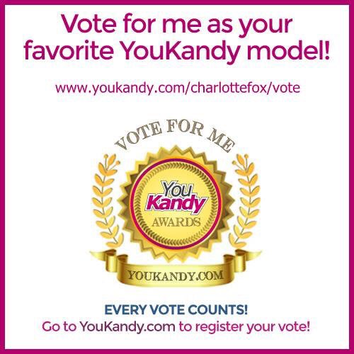 Could u please vote for me for this months #YouKandy awards.  Thank you ? kUmtyIOo1G