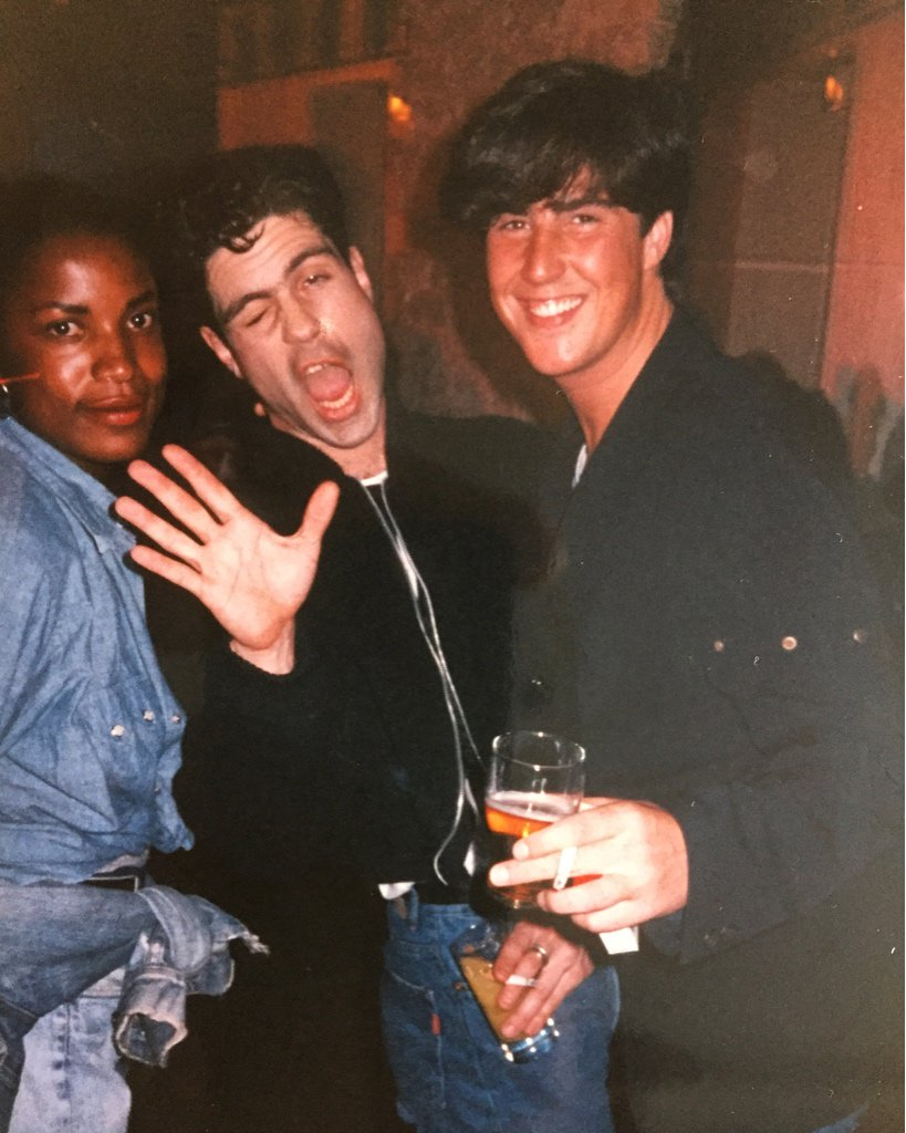 #45 June Lawrence, Brad Branson & David Austin, Faith tour, '88. To support this pop memoir: https://t.co/7FEocNXmmy https://t.co/p1pBzNUe0R