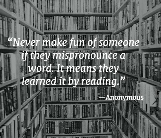 "For years I mispronounced ""detritus"" for just this reason. Have you ever mispronounced a word you've read? https://t.co/ff5kLpODhk"