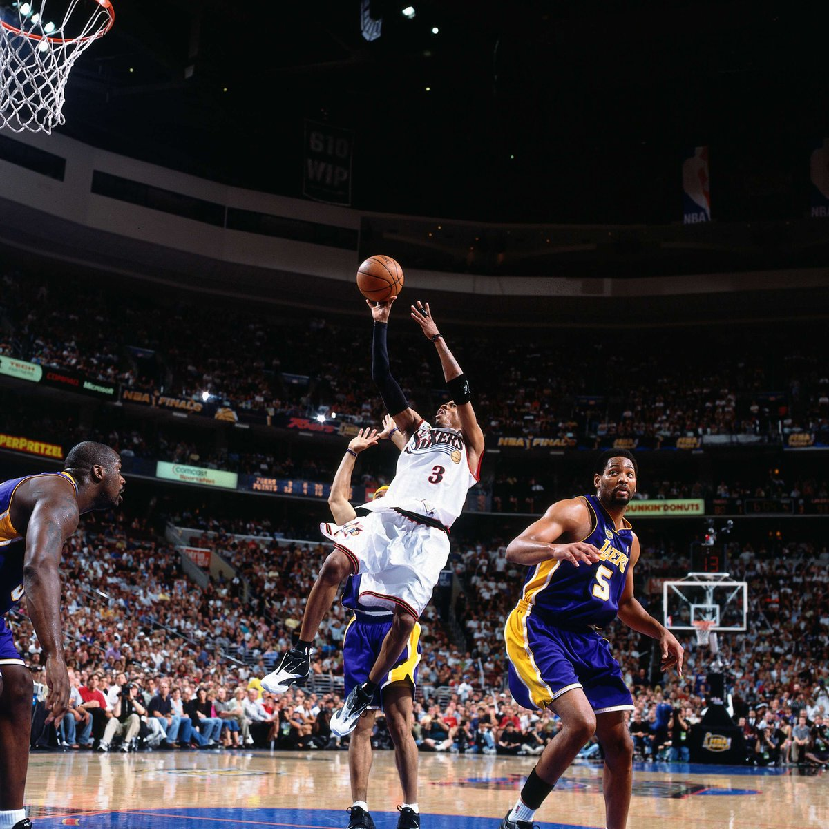 Allen Iverson the man who redefined the game and showed the world that Heart > Height. Welcome AI! #16HoopClass https://t.co/2QMWH3yNi5
