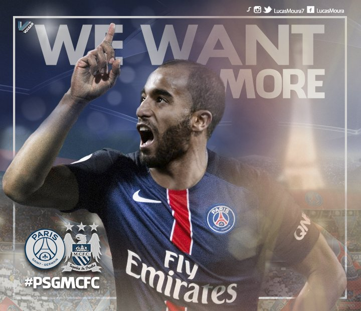 Analysing The Importance Of Lucas Moura To Psg: Who Is Talking About #PSGMCFC On Social Media