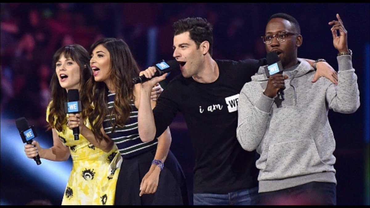 RT @iamgreenfield: Fantastic day at @weday thank you for having us #weday #newgirl https://t.co/dN6ZOMt3HD