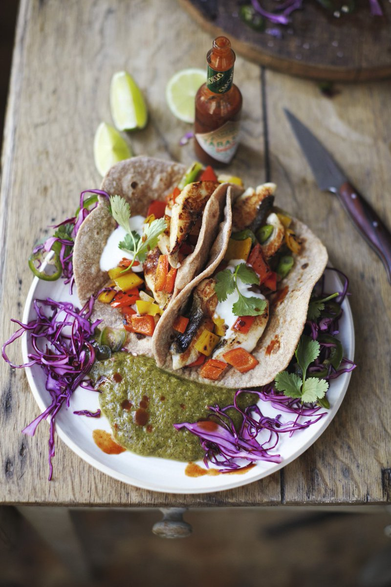 #RecipeOfTheDay is tasty fish tacos! This dish gives us three of our 5-a-day: https://t.co/9IGAOtqihY https://t.co/f02dnqy7dO