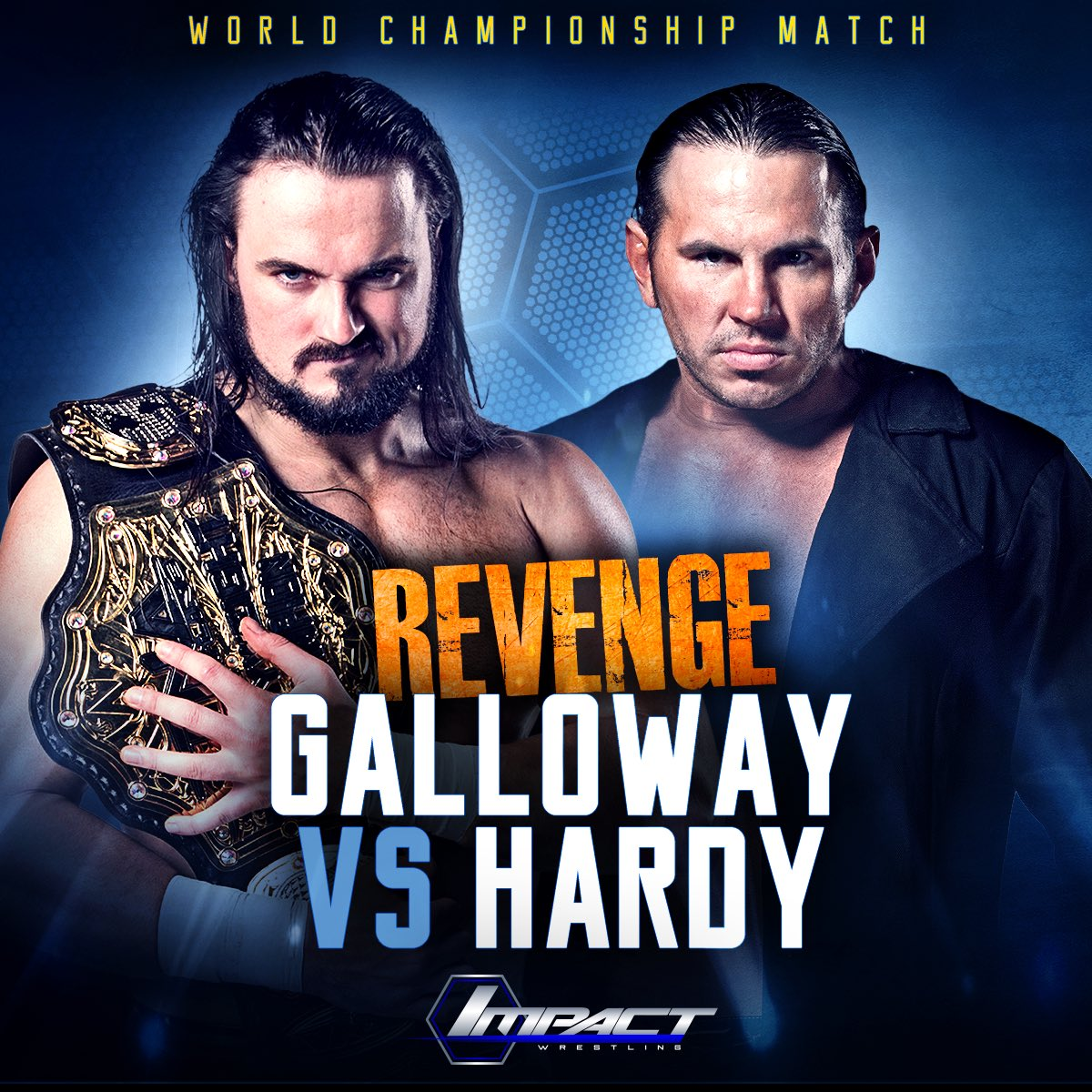 Don't miss TNA tonight at 9pm on Challenge. @MATTHARDYBRAND gets his World Title rematch against @GallowaySpeaks. https://t.co/2Fi3VcbUMg