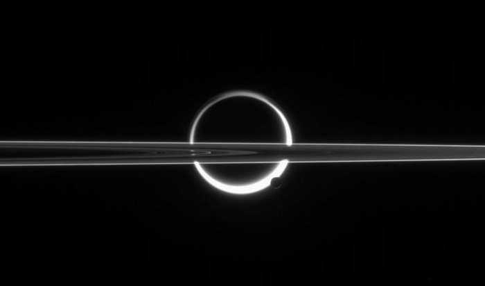 Past & present moons - did saturn's rings form from a moon that ...