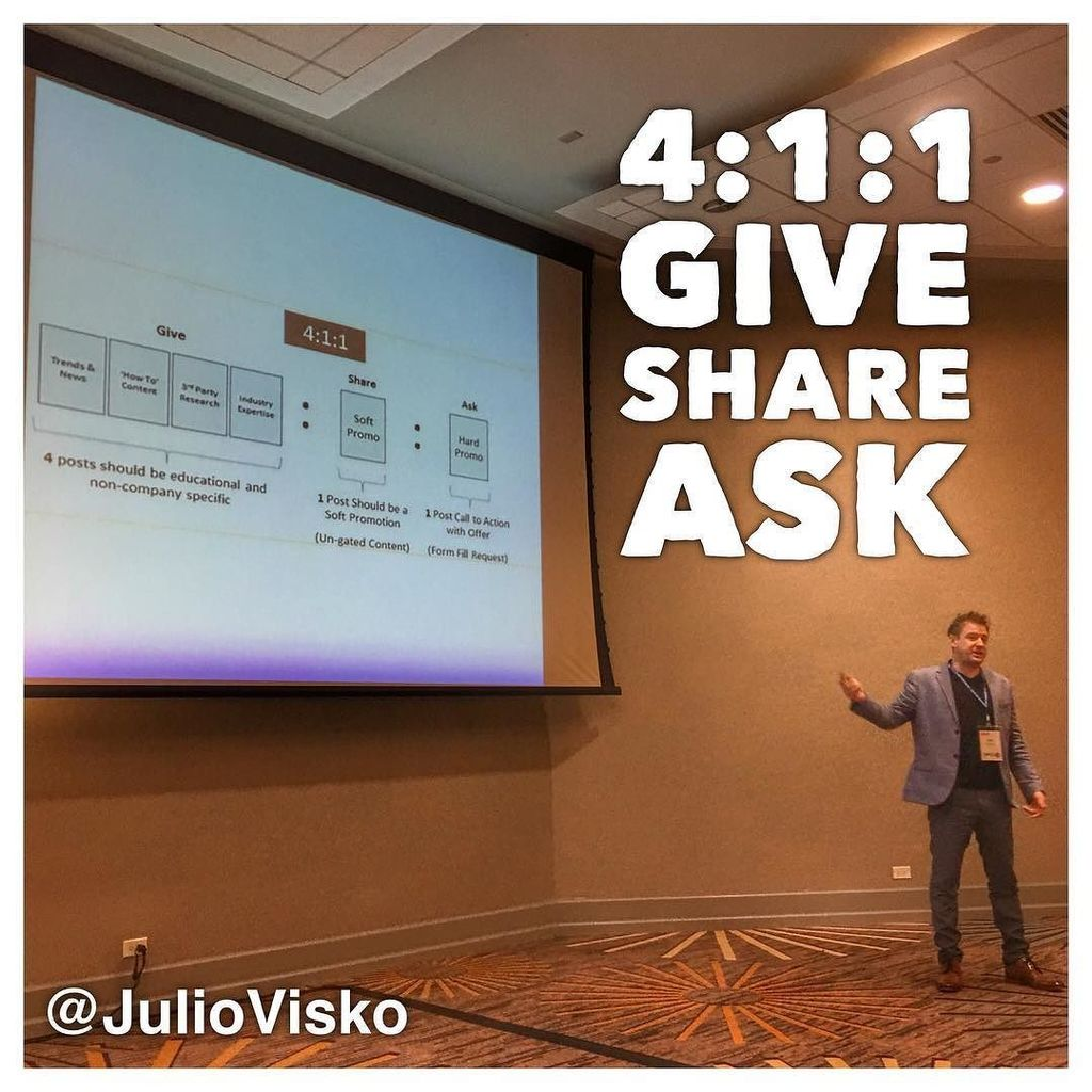 Good advice for employee advocacy from @juliovisko #smssummit https://t.co/RiWvJSldsZ