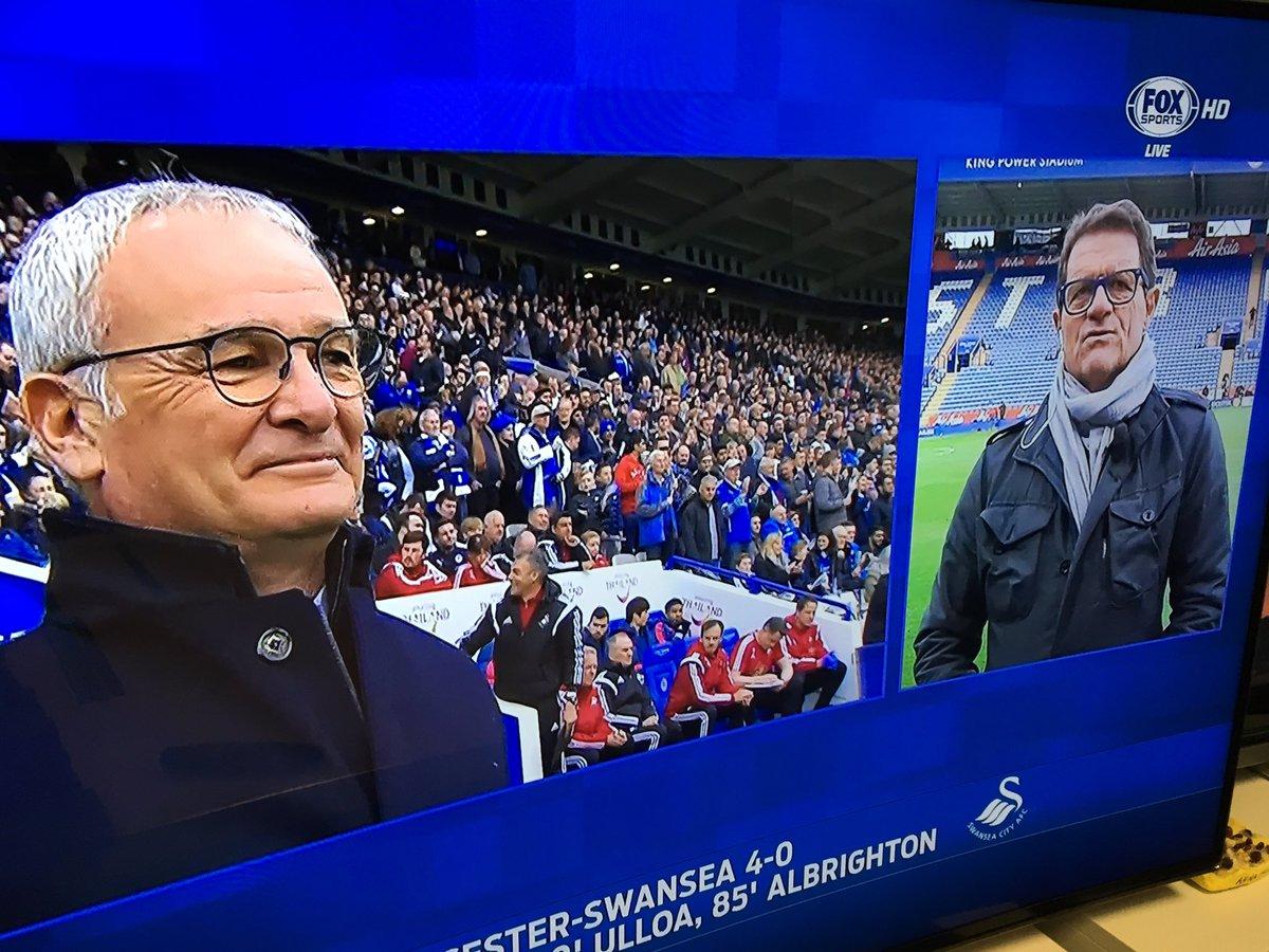 """""""In questo calcio dove vincono sempre le favorite, questa è una favola e #Ranieri se lo merita"""" by Fabio Capello https://t.co/C52O2JoY4W"""