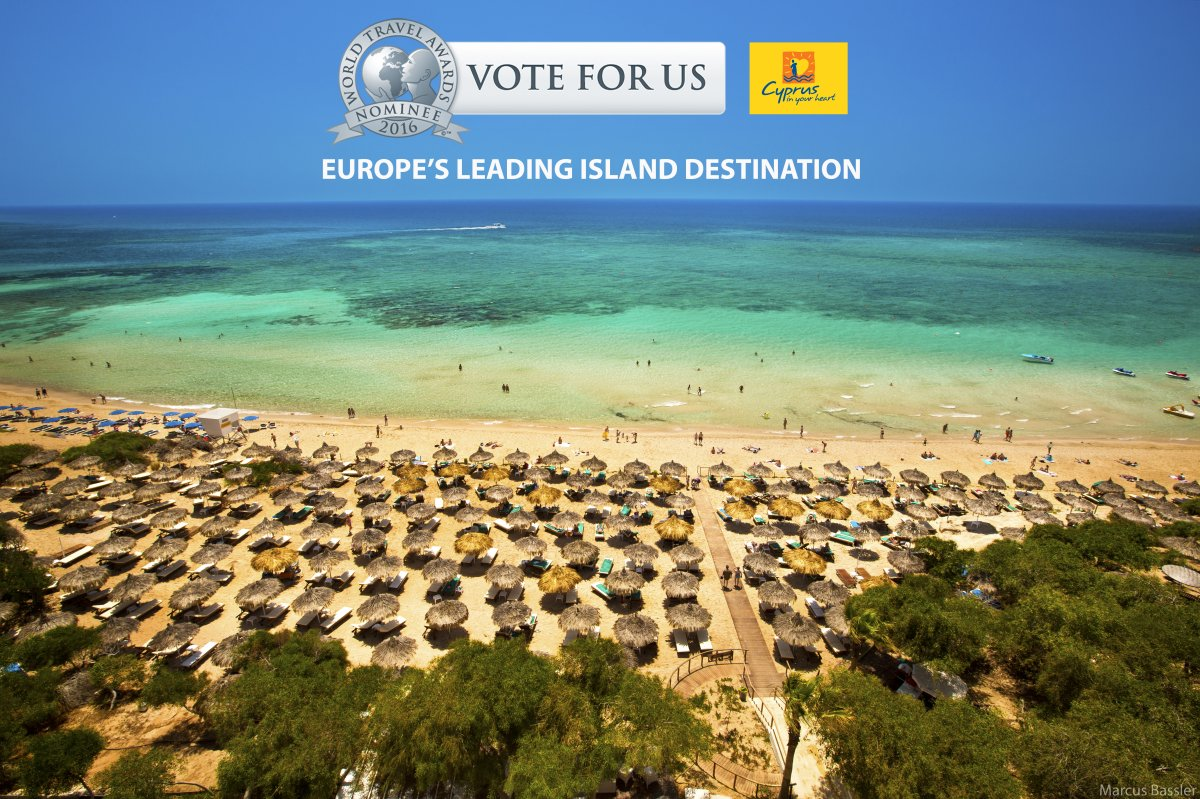 Cyprus is nominated for Europe's Leading Island Destination! #VoteforCyprus  Vote now:https://t.co/5mv1bA1B5w https://t.co/0L8fe7gzvE