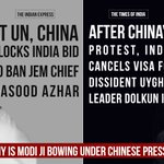 China blocked Indias bid to ban Azhar & now dictating terms to Modi Govt! Is this your strong diplomacy, Modi ji? https://t.co/lc16FvpXuH
