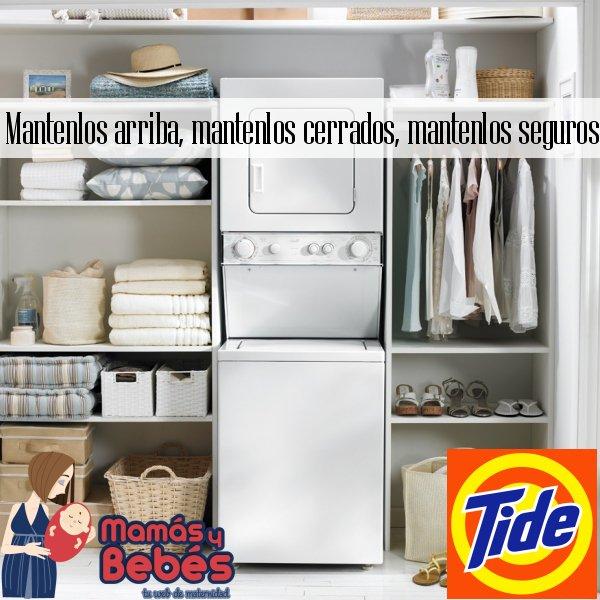 #ArribaCerradosSeguros Mis medidas de seguridad en mi cuarto de lavado: https://t.co/RSlOD6KSzL @tide #ad https://t.co/9SVIF5t6zP