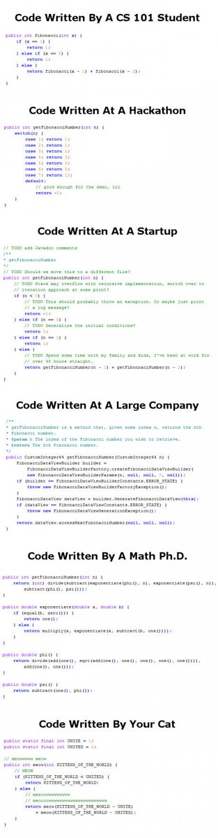 Codes - where and how are they written. https://t.co/1DSGPXiGRc