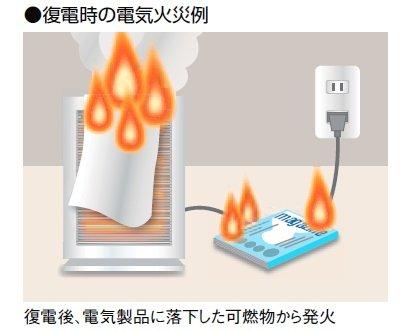 大地震で注意する事は「通電火災」  神戸大地震の時も地震の後、火災が凄かったけど、地震で停電して外に避難した場合、その停電が復帰した時、室内の家電に「トラブル」があると火災になるから「ブレーカーを落としてから避難する事」が鉄則です https://t.co/A4DuNkDF1w