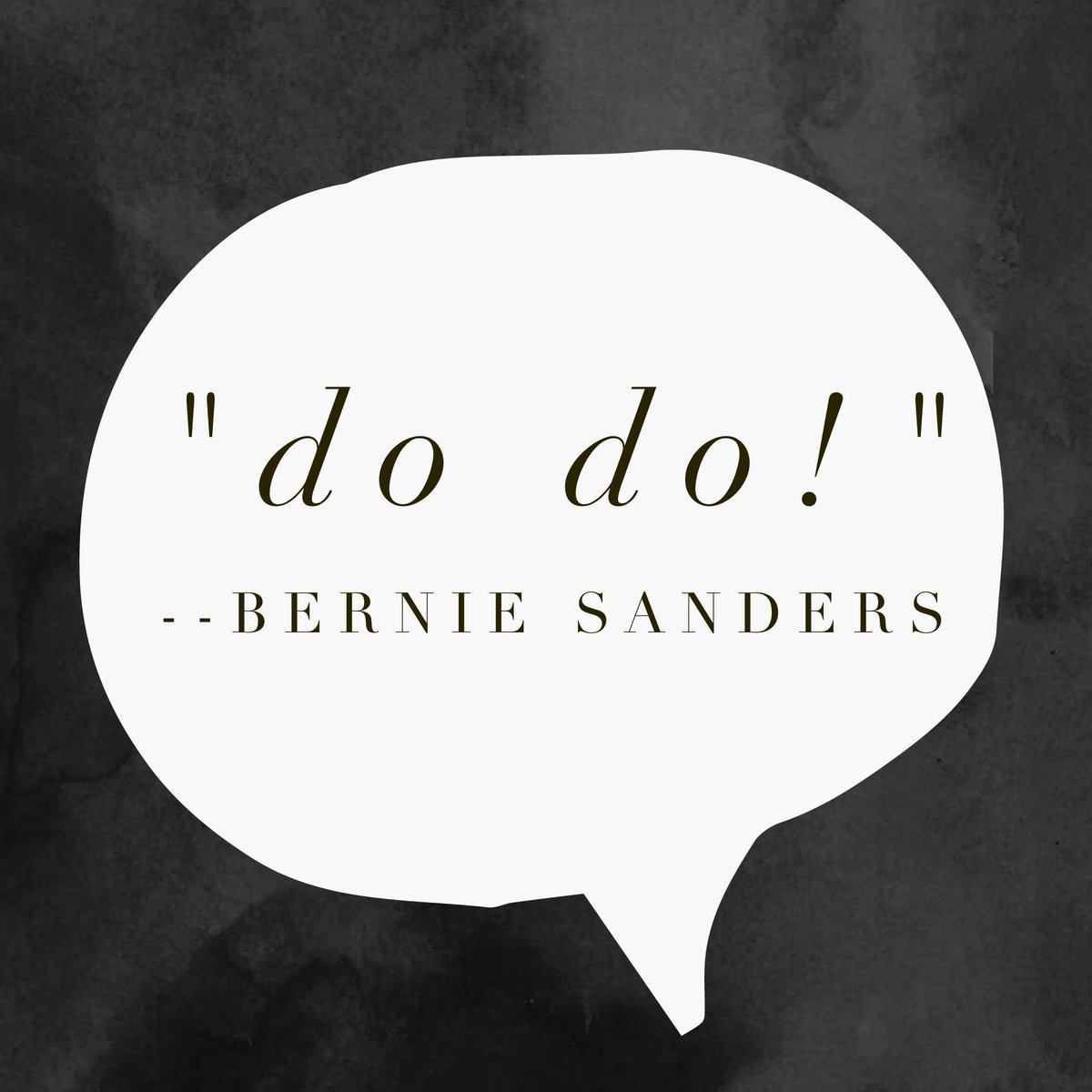 "Tee hee, @BernieSanders said ""do do"" ;) #DemDebate https://t.co/aSbHE7nV8L"