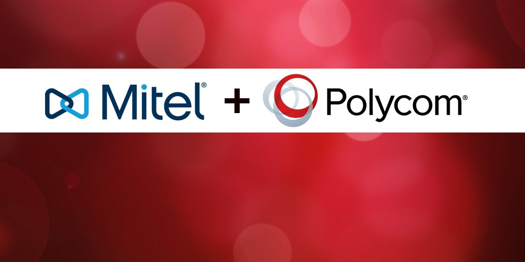 .@Mitel to acquire @Polycom to create global leader in voice & video collaboration portfolio https://t.co/9eKquM42oz https://t.co/oPXN2Vs0dk