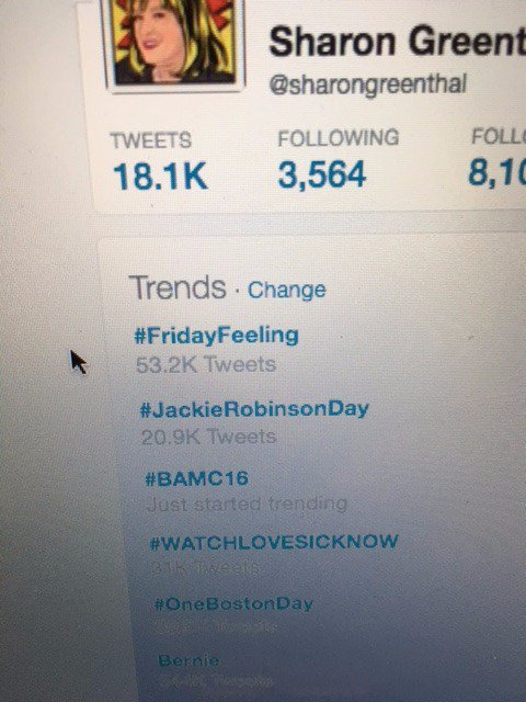 We are trending #BAMC16 thank you so much to our AMAZING attendees and keynotes @JodiOkun @TravelFoodiesTV https://t.co/DW5pndzW4p