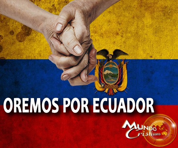 Te unes a orar con nosotros por #Ecuador? https://t.co/JjXRmgGtbX