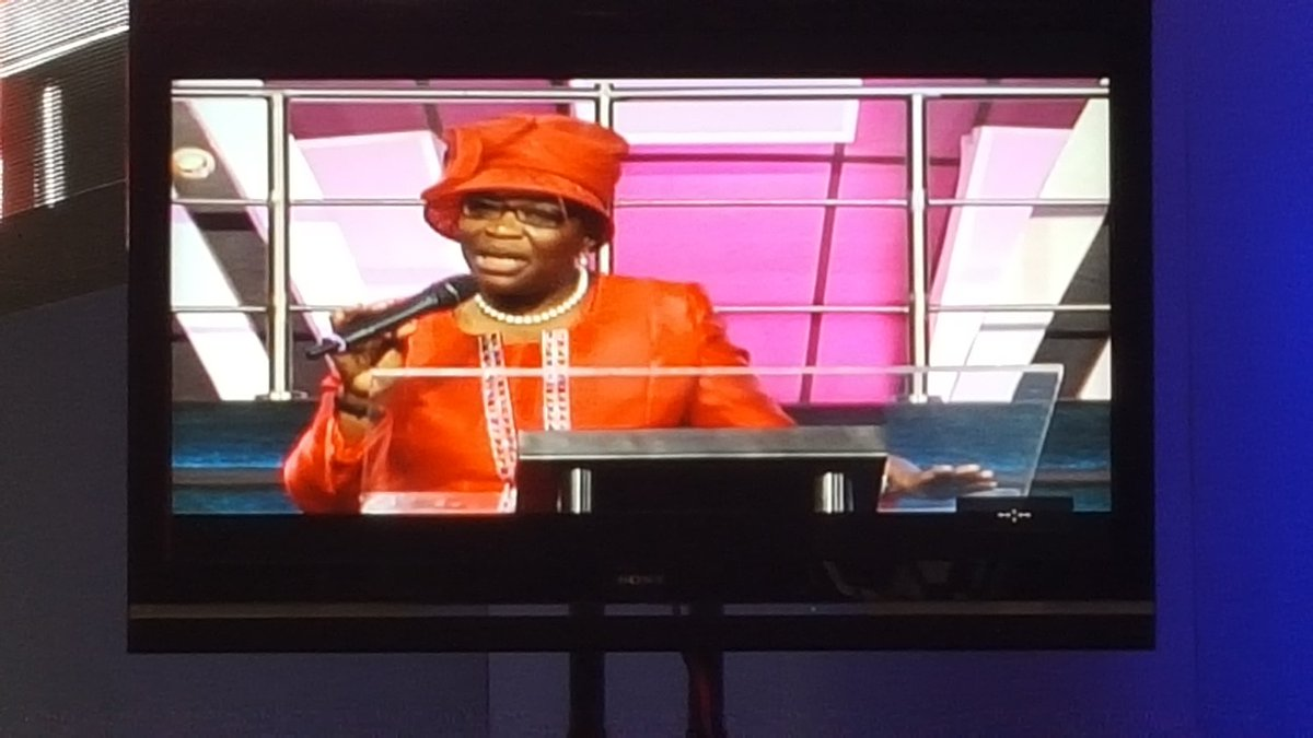 Government is an instrument to care for the poor, the rich can care for themselves - @obyezeks @DaystarNG https://t.co/kISBhUiZd6